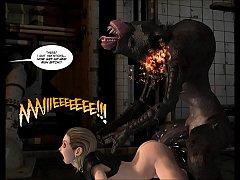 3D Comic: Rebellion. Episode 2