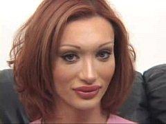 Sexy Mariana Cordoba Wanks Her Huge Cock