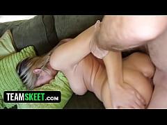 My Slutty Hot Teen Babysitter Let Me Fuck Her -...