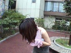 Subtitled extreme Japanese public nudity stript...