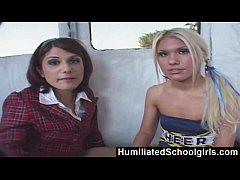 HumiliatedSchoolgirls - Teens Picked Up From Sc...