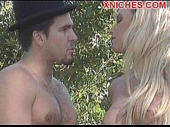 Outdoor sex hot blonde
