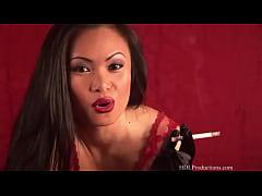 Mya Luanna - Smoking Fetish at Dragginladies