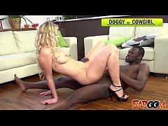 Sandra de Marco gets a hard black cock