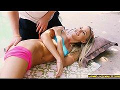 Dane feeds Bree Mitchells his big cock sucking ...