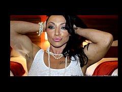 EroticMuscleVideos Seductive Bedroom Tease In L...