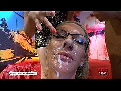 German Goo Girls -  Facial Cumshots compilation