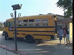 Ashley Blue - School Bus Girls 1
