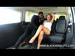 Black Taxi Driver Pounds Violette Pink