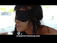MyBabysittersClub - Babysitter Blindfolded & Fucked By Boss