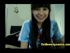 Asian Schoolgirl has never had sex - fatbootyca...