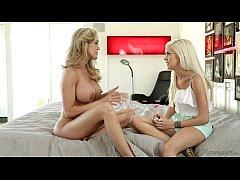 Halle Von and Brandi Love at Mommy's Girl