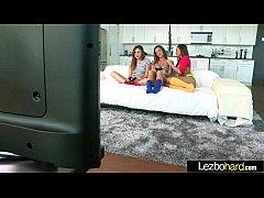 (Ariana Marie & Abigail Mac & Niki Skyler) Teen Lesbo Girls In Sex Tape vid-04