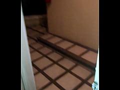 Esposa Cojiendo en el hotel con puerta abierta ...