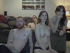 Incredibly Sexy Group Cam Show - CamGirlsUntamed.com