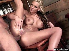 Busty Blonde Phoenix Marie Raw Anal