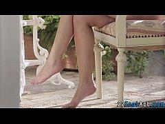 Foot whores feet cumshot