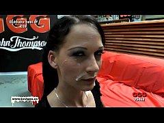 Bukkake time with sexy skinny Aymie - German Goo Girls
