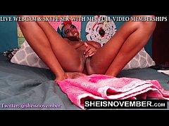SEXY WEBCAM GIRL MSNOVEMBER RIDING GIANT DILDO ...