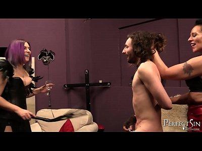 Femdom Fetish Domination vid: Classy Mistresses