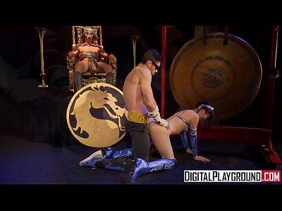 Licking Milf Lesbian vid: Mortal Kombat A XXX Parody
