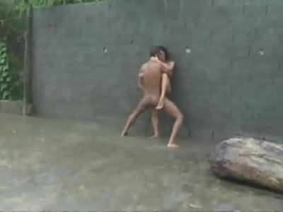 o melhor sexo na chuva de todos os tempos