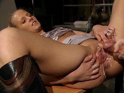redhead janitor porn