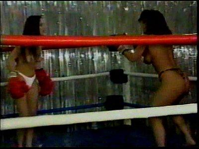 Sweetheart Wrestling SHR-31 Bloody Boxy - Mistress Leeann vs Danielle