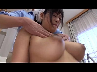 ぷるんぷるんの巨乳清掃員が背後から乳を揉みしだかれてマムコを濡らす