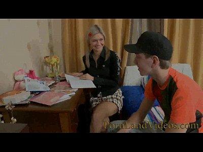 Teens Anal video: anal creampie fuck for skinny blonde girlfriend