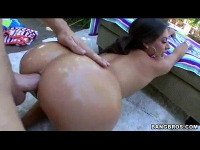 Doggy style anal oil sex with Jynx Maze