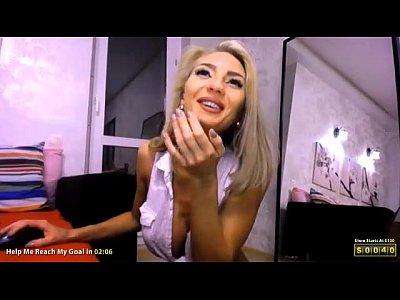 Big tits cam show