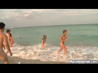 Mycollegerule beach dorm blowjob