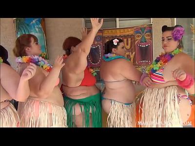 Hula Hoop xxx: 5 Curvy Ssbbws Hula Hoop