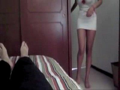 Sexy enfermera casting en equis parte