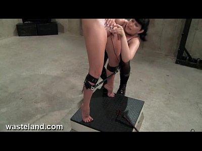 wasteland bondage sex movie sexy dominatrix in white