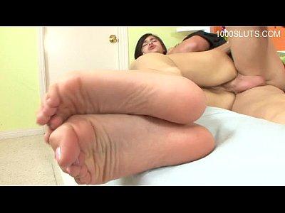 Hot girl surprise cumshot