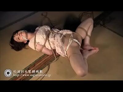 緊縛拘束した巨乳M女!杉浦則夫緊縛桟敷(辻本りょう)【SM無料動画】