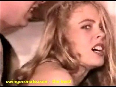 image Blonde swinger newlywed tries anal