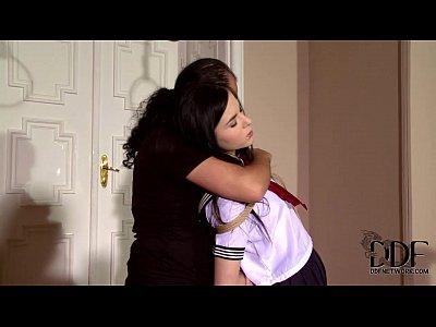 Naughty Schoolgirl Amber Nevada Bound &