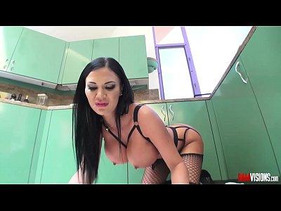 Bigcock Bigdick Bigtits video: Horny Milf Jasmine Jae Gobbles big Cock