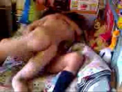 Morrita caliente grabada por su novio
