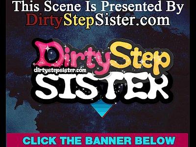 Brunette Cumshot Family video: Horny Stepsister Visits Stepbrother's Workplace