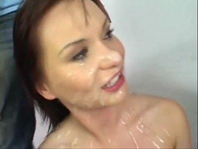 Katja Kassin another sperm facial