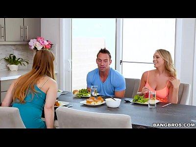 Blonde Busty Babe vid: BANGBROS - Alexis Adams Fucks Her Boyfriend Raw (bbc16074)