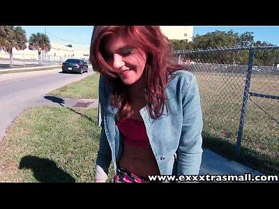 ExxxtraSmall Petite tattooed teen Rissa Maxxx rides cock