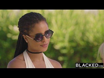Blonde Blowjob Facial video: BLACKED Divorcee Craves Mandingos BBC