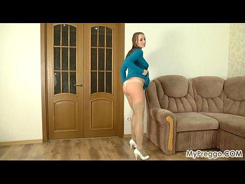 Pregnant Izolda #03 from MyPreggo.com