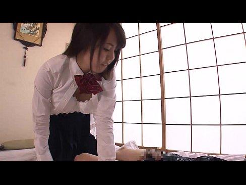 【JK動画】普通にかわいい女子校生にフェラしてもらってセックスしちゃった!