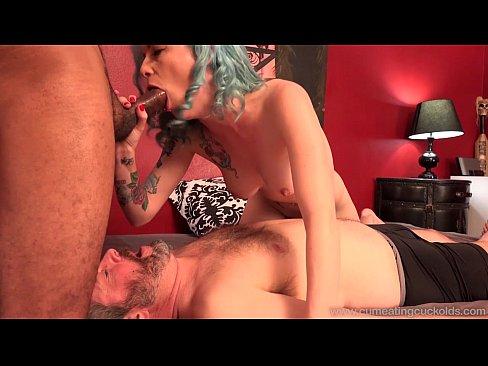 Cum Eating Cuckolds - Jeze Belle fucks a BBC in front of her cuckold